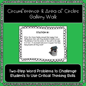 Area and Circumference of Circles Gallery Walk