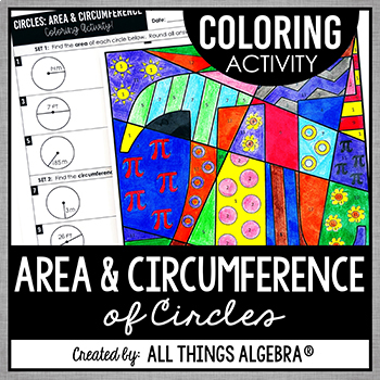 Area And Circumference Of A Circle Fun Teaching Resources Teachers