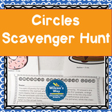 Area and Circumference of Circles Scavenger Hunt (great fo