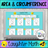 Area and Circumference of Circles Digital Activity Self Checking