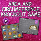 Area and Circumference of a Circle Game