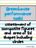Area and Composite Figures: Greenhouse Performance Task