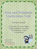 Area and Perimeter 10 day lesson plan and unit Common Core