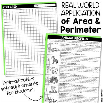 Zoo Design: Area and Perimeter