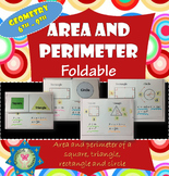 Area and Perimeter Foldable