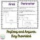 Area and Perimeter Practice Activities / Printables