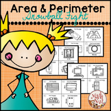"Area and Perimeter Game ""Differentiated Instruction"""