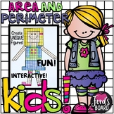 Area and Perimeter Project - Kid Creations!