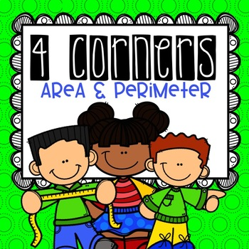 Area and Perimeter  4 Corners Game