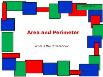 Area and Perimeter powerpoint 4th grade