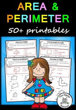 Area and Perimeter – 50+ worksheets