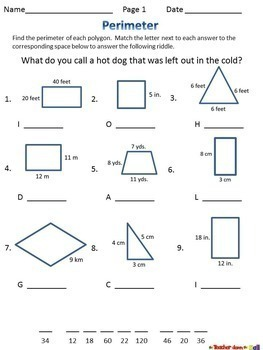 together with Math Irregular Shapes Worksheet Perimeter Worksheets Missing Sides besides  further Area and Perimeter   6 No Prep Worksheets w  Riddles    TpT likewise Area Of Irregular Polygons Worksheets Finding Perimeter Shapes With also Perimeter Worksheets Grade Missing Side Main Images Area Math Free together with Area Perimeter Worksheets And Worksheet 2 Free Printable Grade 4 besides Finding Side Length  Given Perimeter  Worksheet additionally third grade area worksheets likewise  besides Worksheet On Perimeter Of A Figure Questions Measurement Length Area together with  further  likewise Given Perimeter  Find Missing Side Lengths   Practice with Fun Math moreover Grade 5 Perimeter Worksheets Fourth Math Length And Area 4 moreover finding area worksheets – kcctalmavale. on perimeter worksheets with missing sides