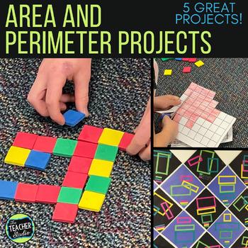 Area and Perimeter Activities!  5 Activities to Deepen Understanding