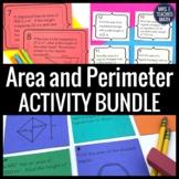Area and Perimeter Activity Bundle