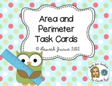 Task Cards: Area and Perimeter {enhanced with Augmented Reality}