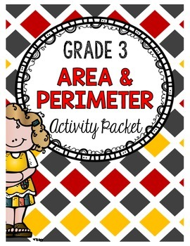 {Grade 3} Area and Perimeter Activity Packet