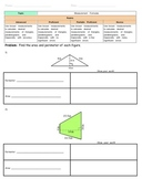 Area and Perimeter Assessments / Homework / Worksheets