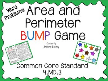 4.MD.3 Area and Perimeter BUMP Game