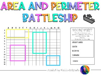 Area and Perimeter Battleship Game