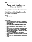 Area and Perimeter Bird House Application Project