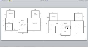 Area and Perimeter Blue Print Activity