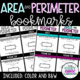 Area and Perimeter Bookmarks