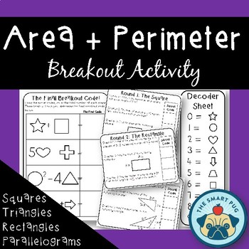 Area and Perimeter - Breakout Challenge Activity