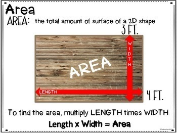 Area and Perimeter Project: Build a Park Project Based Learning