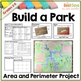 Area and Perimeter Activity   Build a Park Project PBL