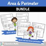 Area and Perimeter BUNDLE