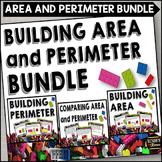 Perimeter and Area Task Card Bundle