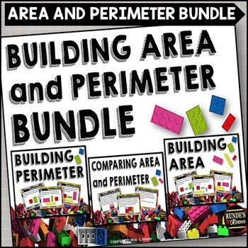 Perimeter and Area Task Card Bundle