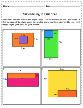 Area and Perimeter Bundle
