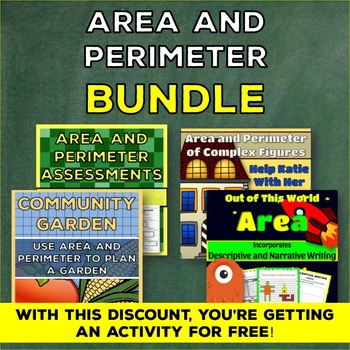 Area and Perimeter Bundle: Activities and Assessments 4.MD.3