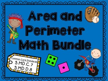 Area and Perimeter Bundle CCSS
