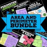 Area and Perimeter Bundle - Composite Shapes