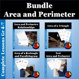 Area and Perimeter Bundle Rectangles, Parallelograms and Triangles