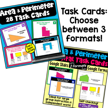 Area and Perimeter Bundle of Activities