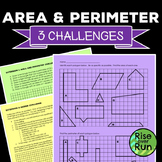 Area and Perimeter, Compound Polygons