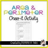 Area and Perimeter Cheez-it Activity