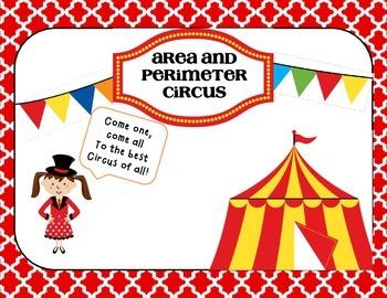 Area and Perimeter Circus