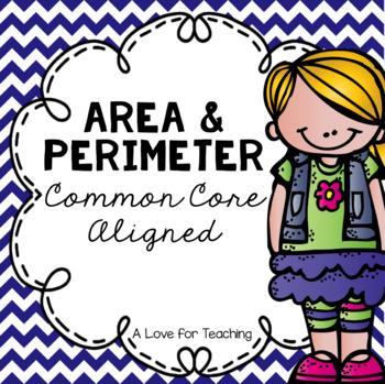 Area and Perimeter No Prep {Common Core Aligned}