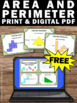 FREE Download Area and Perimeter Task Cards 3rd 4th Grade