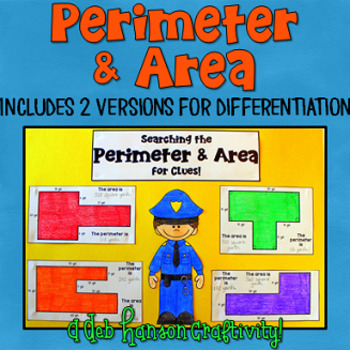 Area and Perimeter Craftivity (Composite Figures)