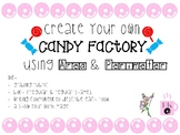 Area and Perimeter- Design Your Own Candy Factory