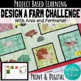 Area and Perimeter Design a Farm Challenge