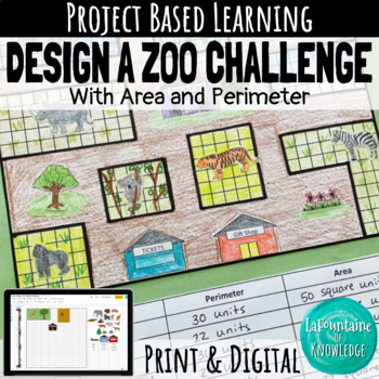 Area and Perimeter Design a Zoo Challenge