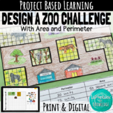Area and Perimeter Design a Zoo Challenge