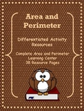 Area and Perimeter Differentiated Learning Center