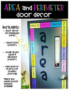 Area and Perimeter Door Decor
